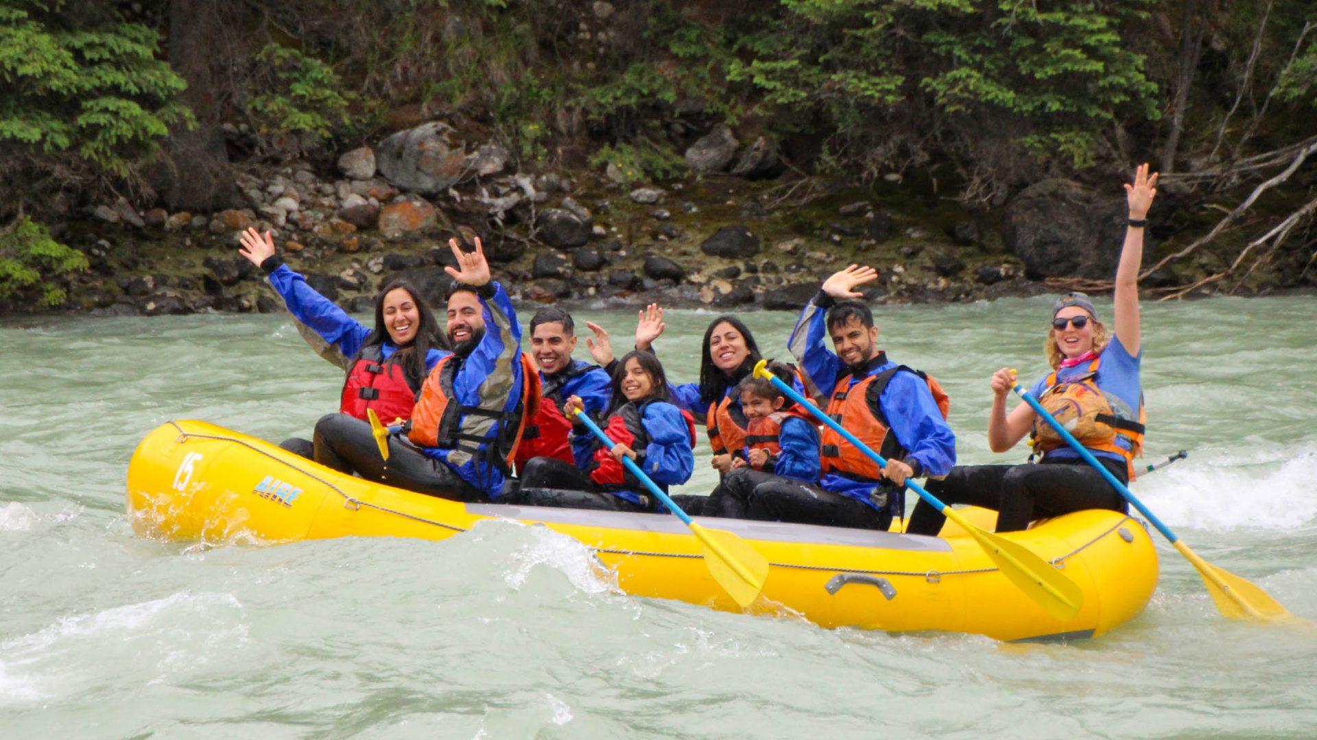 Jasper's Whitewater Rafting